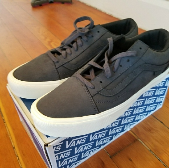 ed0f386370 Vans Old Skool Lite LX Dark Steel Nubuck